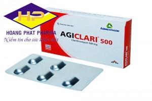 Agiclari Clarithromycin 500mg