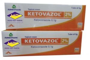Ketoconazol 5 gram (tuýp)