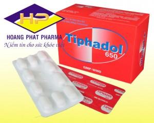 Paracetamol 650 mg (Tiphadol)