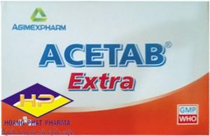 Paracetamol 500mg và cafein 65mg