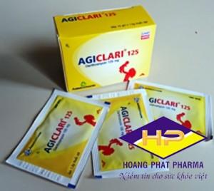 Agiclari Clarithromycin 125mg