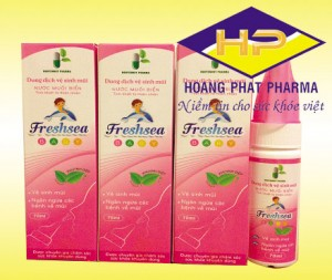 Freshsea Baby – xịt mũi trẻ em mùi khuynh diệp