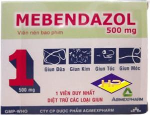 Mebendazol 500 mg
