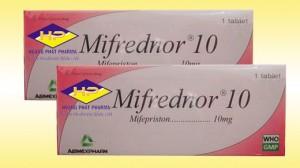Mifepristone 10mg (Mifrednor)