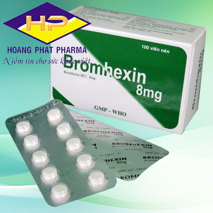 Bromhexin 8mg