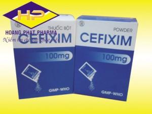 Cefixim 100mg (gói)