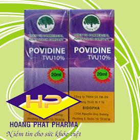 Thuốc sát trùng Povidine 10% 20ml