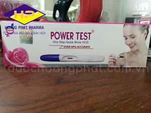 Bút thử thai nhanh Powertest
