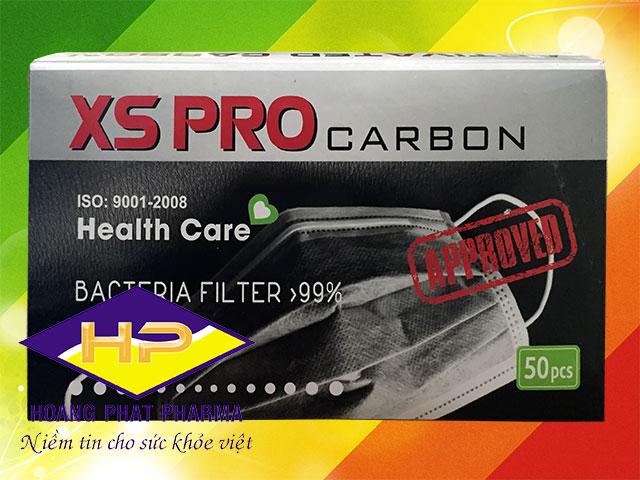 Khẩu trang than hoạt tính XS PRO Carbon