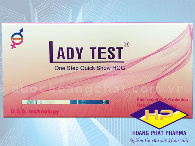 Que thử thai Lady Test