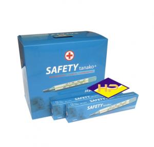 Nhiệt kế thủy ngân xanh Safety