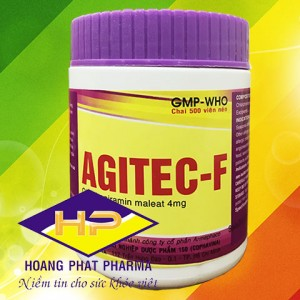 Chlorpheniramin maleat Agitec-F 4mg