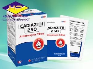 Cadiazith 250 (Azithromycin)