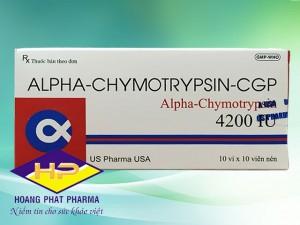 Alpha Chymotrypsin CGP (Alpha-Chymotrypsin 4200 IU)
