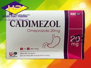 Cadimezol Omeprazol 20mg