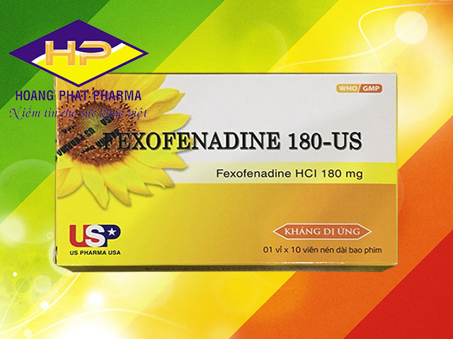 Fexofenadine 180-US