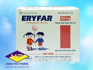 Eryfar 250mg (Erythromycin)