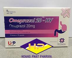 Omeprazol 20 -HV