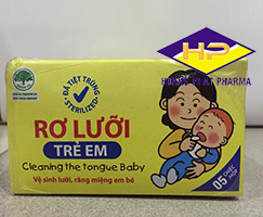 Rơ lưỡi trẻ em