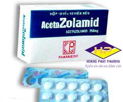 ACETAZOLAMID 250