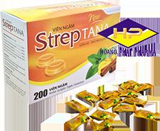 Kẹo Ngậm Streptana