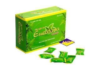 Kẹo ngậm trị ho Eucatana hộp