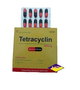 Tetracyclin 500 mg