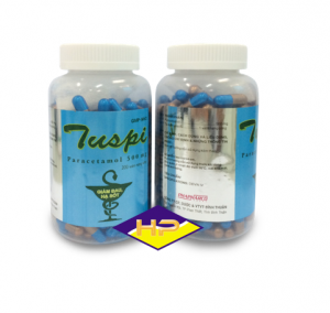 Tuspi ngọc trai  – Paracetamol 500mg