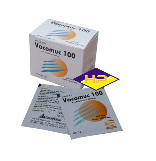 Vacomuc 100 – Acetylcystein 10 mg