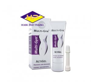 Gel bôi âm đạo giảm ngứa hết viêm Multi-gyn Actigel