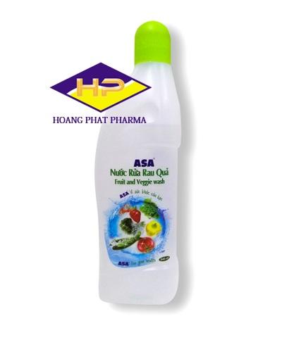 Nước rửa rau quả ASA