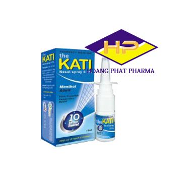 Thuốc xịt mũi KATI 0.1%