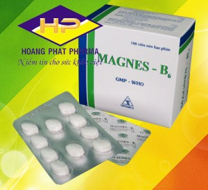 Magnes 470mg – Vitamin B6 5mg