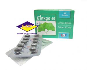 Ginkgo 40mg