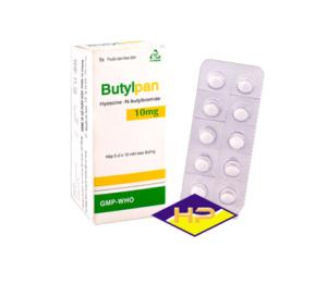 Thuốc chống co thắt Butylpan 10
