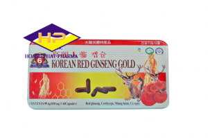 Hồng Sâm Korean Red Ginseng Gold Hộp thiếc