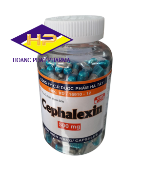 Cefalexin 500mg Hataphar