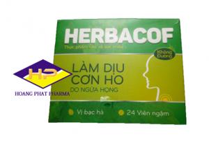 Kẹo ngâm trị ho Herbacof