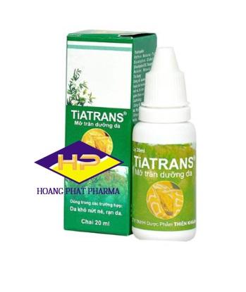 Mỡ trăn Tiatrans