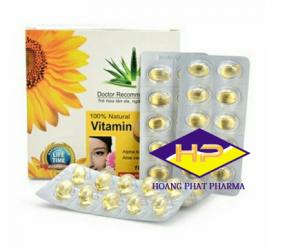 Vitamin E400 Kèm Tinh Chất Nha Đam