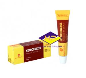 Kem bôi da trị nấm ở da và niêm mạc Ketoconazol 2% (5g)