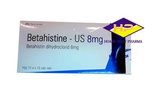 Betahistine-US 8mg