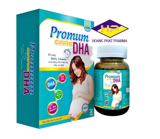 Thuốc bổ bà bầu Promum Care DHA