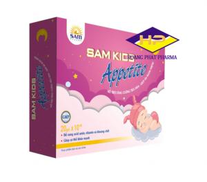 Gói giúp bé ăn ngon Sâm kids Appetite Hộp 20 gói tăng cường tiêu hóa, nâng cao sức đề kháng