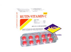 Rutin-Vitamin C