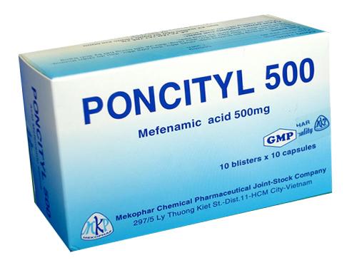 Poncityl 500