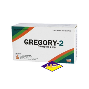 Gregory-2 – Glimepirid 2mg