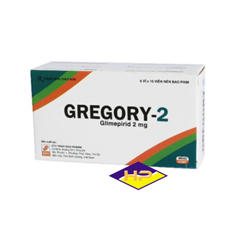 Gregory-2 – Glimepirid 2mg